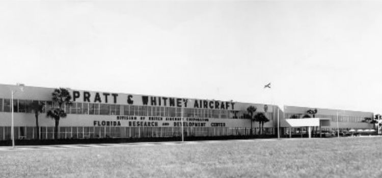 """""""In the 1950s, Pratt & Whitney came to Jupiter, opening the Florida Research and Development Center."""""""