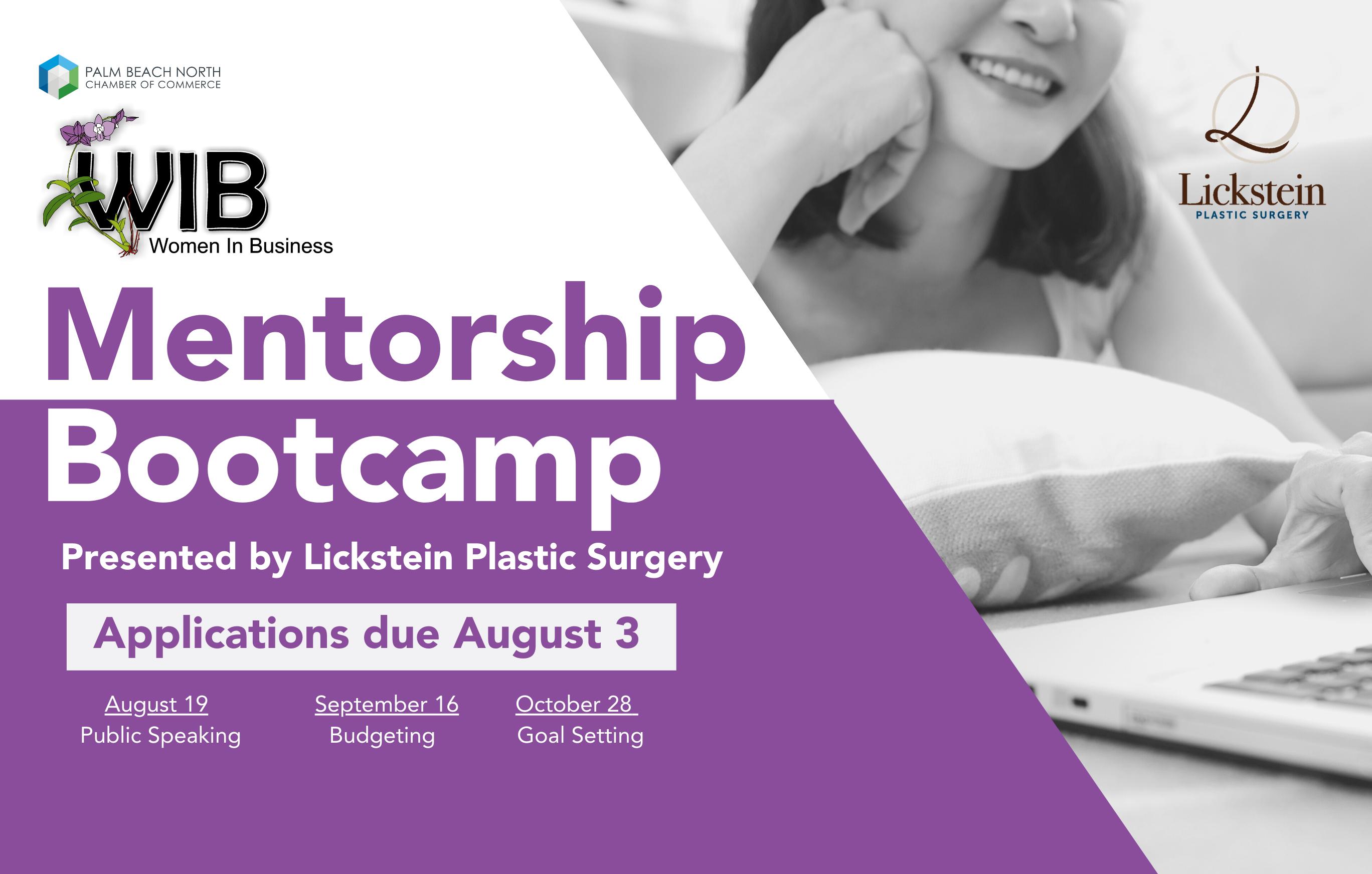 WIB Mentorship Bootcamp Program FB Event