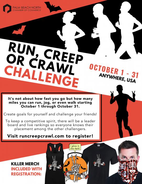Flyer - Run, Creep or Crawl Challenge